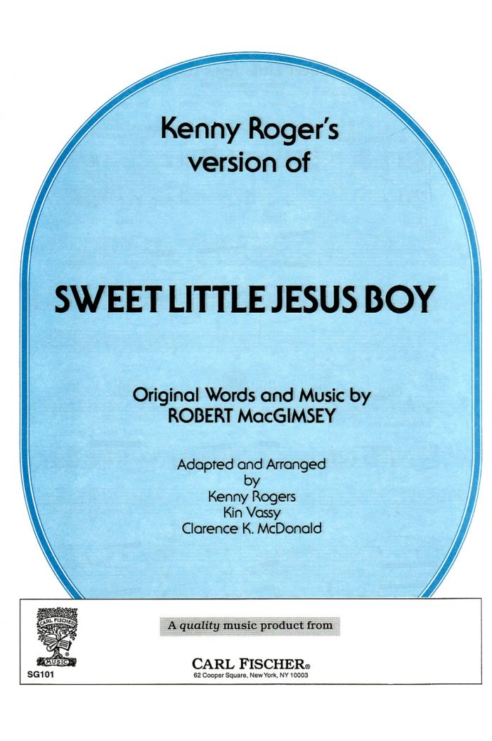 Kenny Roger's Version Of Sweet Little Jesus Boy